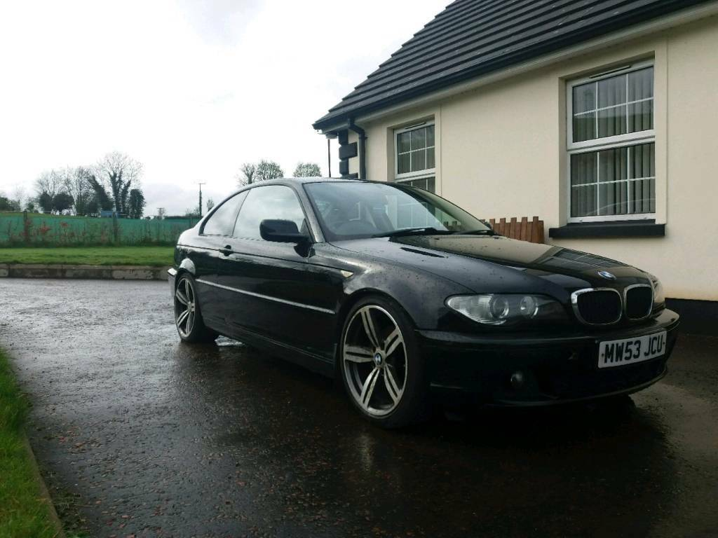 bmw 320 cd e46 coupe in magherafelt county londonderry gumtree. Black Bedroom Furniture Sets. Home Design Ideas