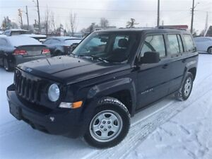 2016 Jeep Patriot Sport/North / 5-SPD / AC / ONLY 39KM