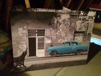 Classic car large print