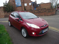 59 PLATE FORD FIESTA TITANIUM 1.4 PETROL 72K MILEAGE 2 FORMERS COME WITH 12 M MOT AND 3 M WARRANTY