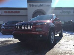 2014 Jeep Cherokee Low Mileage, Local Trade In,