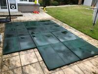 Outdoor Rubber Safety Play Mats
