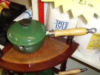 American cast iron saucepans
