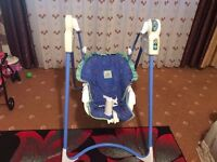 A very nice baby swing only £15