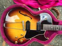 1959 Gibson ES225TN Sunburst Superb Condition