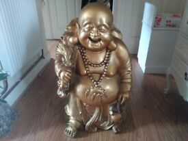 "Large Buddha Home decor Figure "" Great Present """