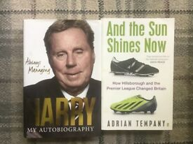 Harry Redknapp Autobiography& The Sun Shines Now