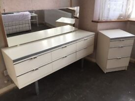 Retro Dressing Table and Beside Table