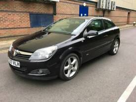 Vauxhall Astra Turbo coupe SRI 2.0 petrol 2007 very low mileage 68k