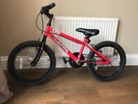 Halfords Apollo Outrage kids bike 18' wheels
