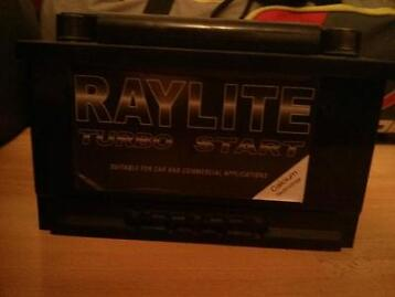 Heavy Duty Car Battery (for Sale) With Warranty