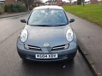 NISSAN MICRA 1.2 S 5 DR (04 REG) - ONLY 64000 GENUINE LOW MILEAGE