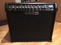 Line 6 Spider IV Guitar Amp 75 Watt Mint Condition