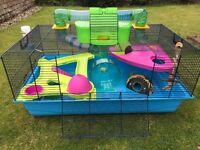 Savic Hamster Heaven Metro-a luxury hamster home perfect for a Syrian Hamster. With added extras.