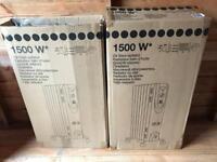 Oil filled radiator 1500W