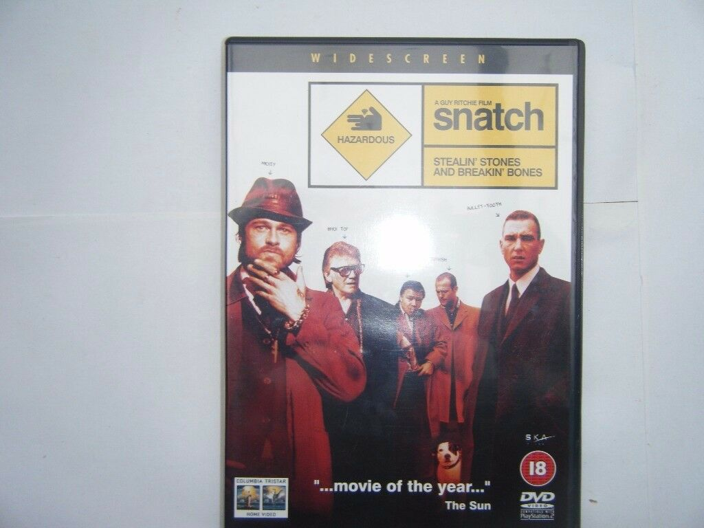 Snatch Dvd. Used