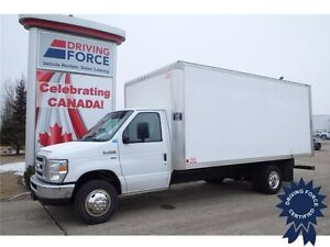 2014 Ford E-450 16 Ft Cube Van Rear Wheel Drive - 46,509 KMs