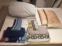 DOUBLE BED DUVET, 2X PILLOWS AND 2X SHEETS SET