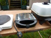 Toaster , Sandwich maker , Grill , Kettles £7