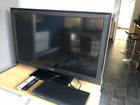 "Sony Bravia 40"" TV with controller"