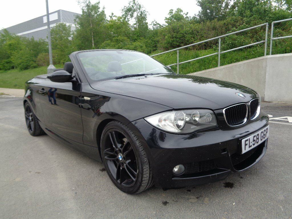 2008 BMW 1 SERIES CONVERTIBLE M SPORT, AUTOMATIC DIESEL, FULL ...