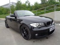 2008 BMW 1 SERIES CONVERTIBLE M SPORT, AUTOMATIC DIESEL, FULL SERVICE, LEATHE...