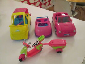 POLLY POCKET CARS / SCOOTERS, ETC, ETC - FROM £2.50