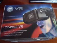 Virtual Reality Headset, Universal VR, Ideal christamas present/stocking filler
