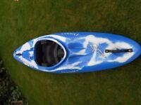 Blue Dagger Dynamo Kayak.