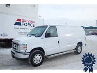 2013 Ford E-250 Cargo Van - 4.6L V8 - 22,038 KMs - 4 Speed A/T