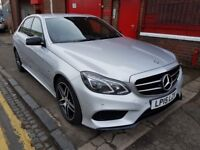 Mercedes-Benz 2.1 E220 CDI BlueTEC AMG Night Edition 1 OWNER FROM NEW 2015