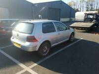 Volkswagen golf mk4 gti 2.0 breaking for parts