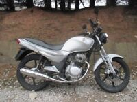 SYM XS 125cc motorbike CBT learner legal