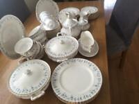 Royal Albert tea set and dinner set