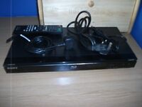 sony blu ray/dvd player with remote gwo corsham sn139ng