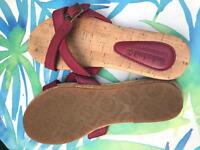 Ladies Timberland leather sandals