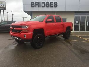 2016 Chevrolet Silverado 1500 2-LT**LIFT KIT/LEATHER/ONE OWNER**