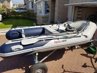Honwave T32 inflatable boat speed fishing