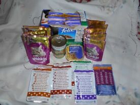 Cat Food Selection - 32 pkts/tins - variety