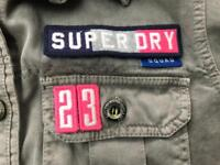 Superdry classic combat shirt hoodie