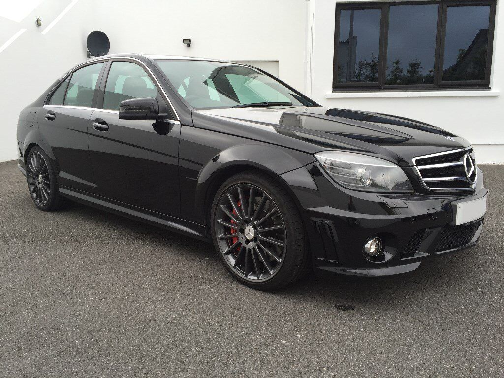 Black 2010 mercedes c63 amg with performance pack lots for 2010 mercedes benz c63 amg