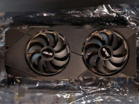 ASUS Dual 2070 super EVO OC from factory - 2 MONTHS OLD - LIKE NEW