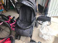Mamas and pappas stroller pram Black