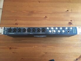 Presonus 1818 VSL studio interface