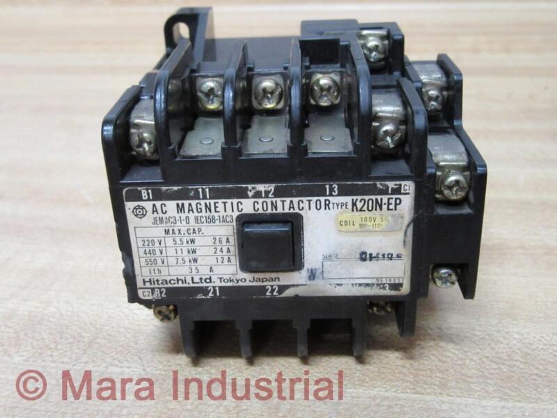 Hitachi K20N-EP Contactor K20NEP