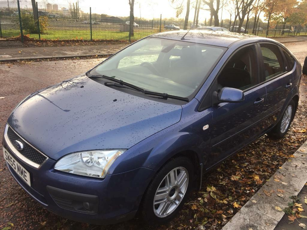 Ford Focus Ghia Blue 5 Door Fully Electric Windows Wooden Effect Dashboard Alloy Rim Strong Engine