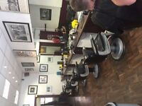BARBER STYLIST REQUIRED FOR BUSY MENS SALON IN UXBRIDGE