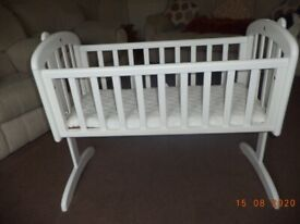 babies cot by john lewis lovely condition