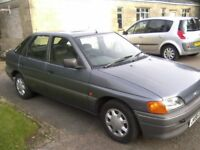 A RARE OPPORTUNITY TO PURCHASE A FAST APPRECIATING CLASSIC FORD ESCORT 1-4 GLX 5-DOOR MK V, 1 OWNER.