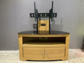 Tv stand with bracket